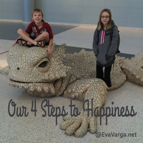 Our 4 Steps on the Pursuit of Happiness @EvaVarga.net