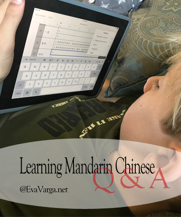 q&a learning mandarin
