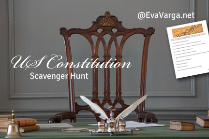 Our United States Constitution: A Scavenger Hunt Activity for Teens @EvaVarga.net