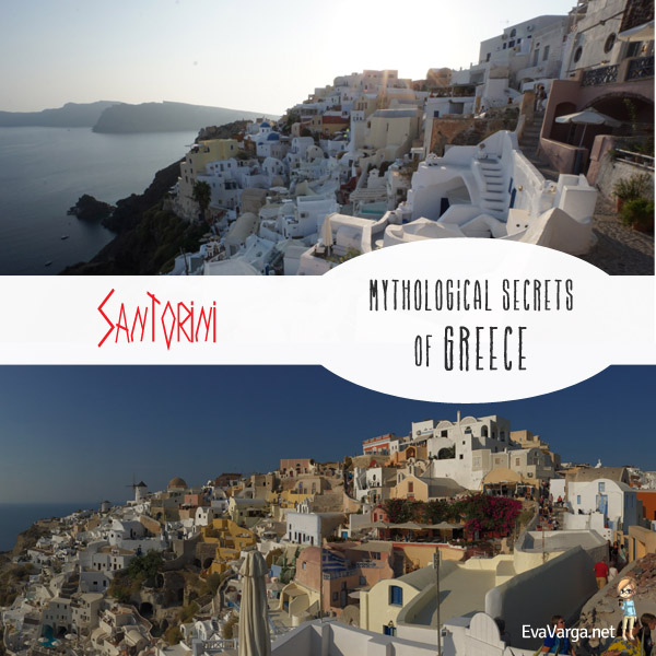 A Lost City & Paradise in Santorini @EvaVarga.net