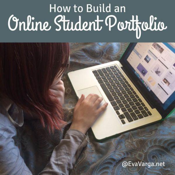 How to Build an Online Student Portfolio @EvaVarga.net