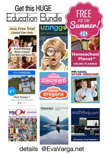 7 Summer Freebies details @EvaVarga.net