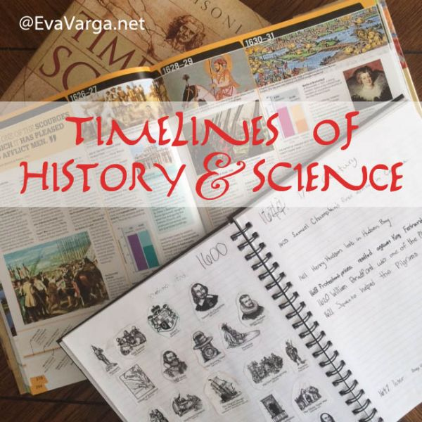 Timelines of History & Science @EvaVarga.net