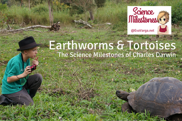 The Science Milestones of Charles Darwin @EvaVarga.net